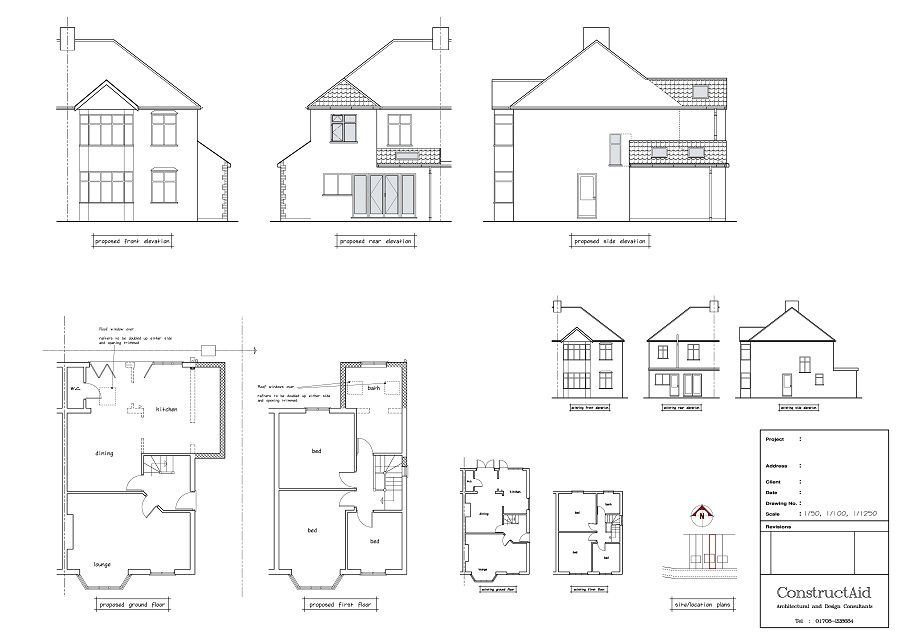 This is an example of a Single Storey Rear Extension design