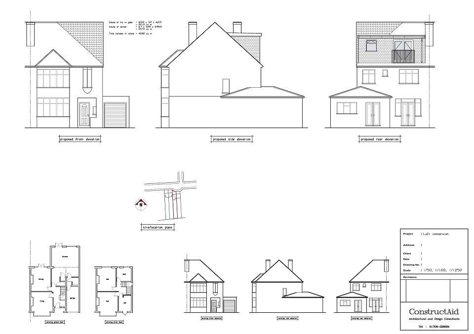Loft Conversion design example - ConstructAid